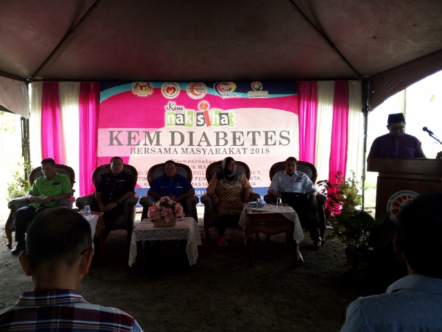 Kem Nak Sihat & Kem Diabetes Bersama Masyarakat 2018