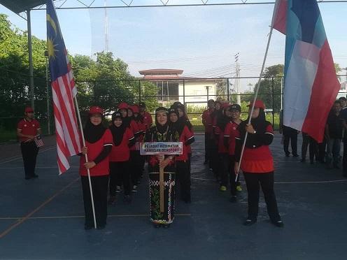 Perhimpunan Pagi PKK Beaufort Bulan Sep 2018