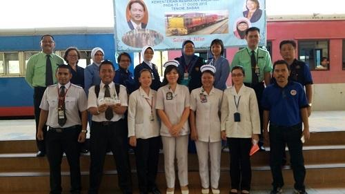 Lawatan Pengarah Kesihatan, Kementerian Kesihatan Malaysia Tahun 2015
